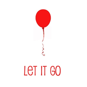 Let it Go red balloon