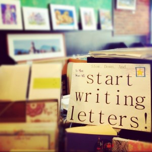 Letters Start Writing