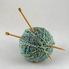 ball of yarn with needles 1