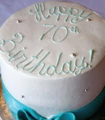 Birthday 70 cake