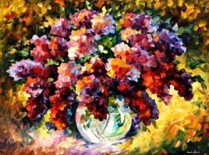 Painting by Leonid Afremov, courtesy of afremov.com.