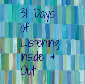 Blues and Greens 31 Days of Listening