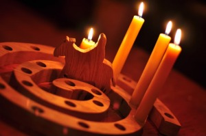 Advent wreath