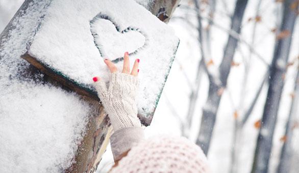 Snow heart 1